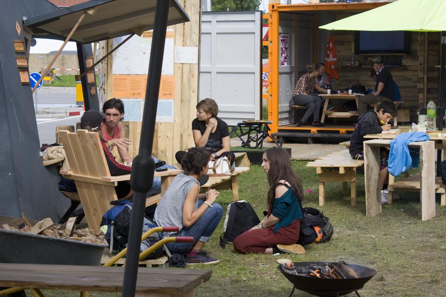 BUREAU DETOURS på Grønningen under Metropolis 2019