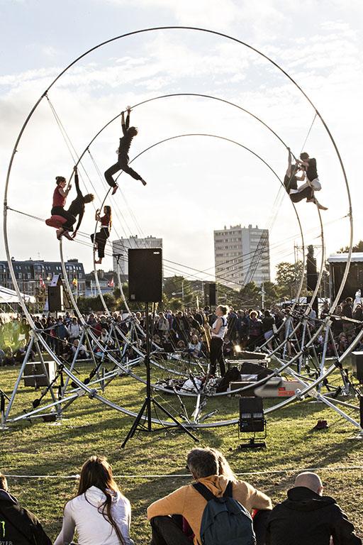 LA SPIRE af Chloé Moglia under Metropolis 2019 på Grønningen