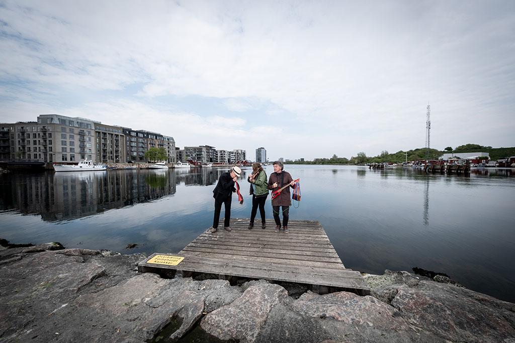Stemmer, Strøm og Støj på Slusen - Skræp & co. på Metropolis, Sydhavnen, København