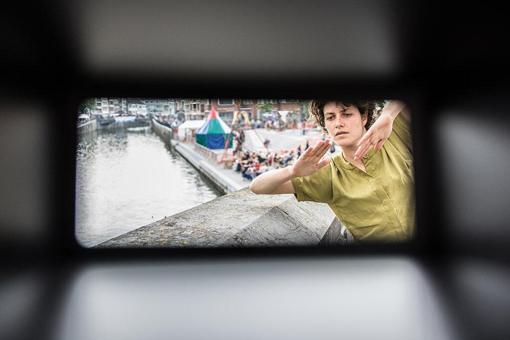 Framing the Circle, Studio Cité af Benjamin Vandewalle i København, Metropolis