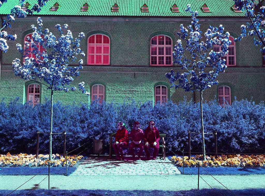 Oprørets Koordinater - audiowalk af Kunstkollektivet Familien under Metropolis 2019 i København