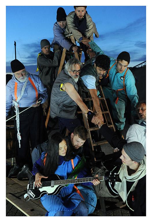 Vi, de Druknede af Carsten Jensen som musikteater af Walpurgis i Marstal, Ærø, august 2019
