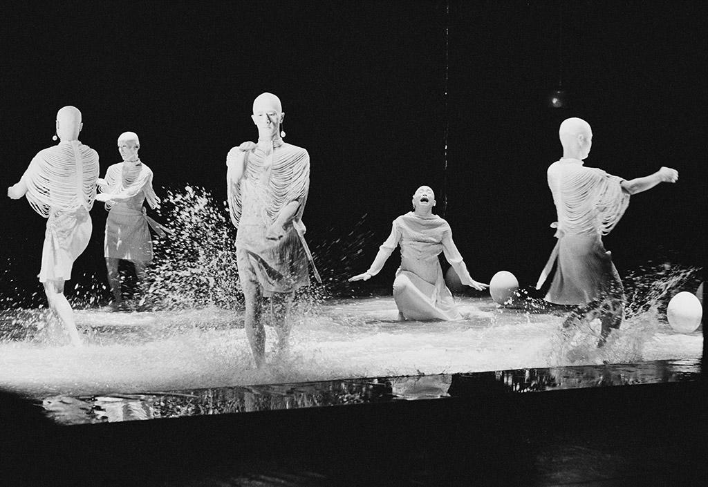 KIT Sankai Juku Unetsu Dancin' City 1990 København Det Ny Teater