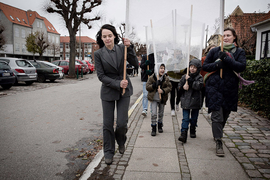 Molly Haslund Walking Copenhagen Metropolis