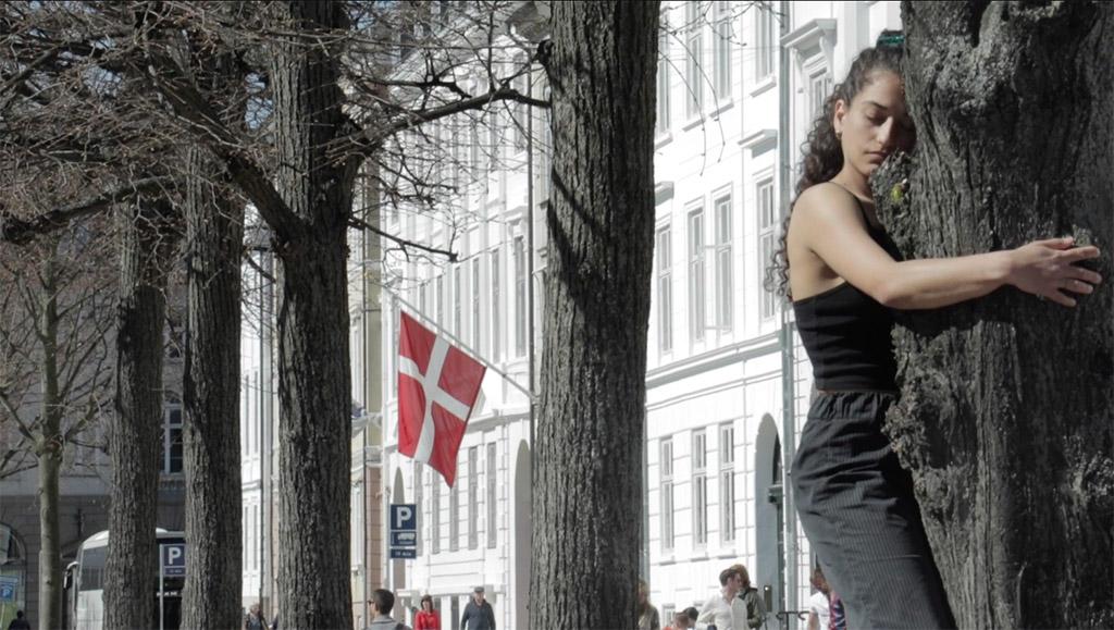Kalliopi Siganou Walking Copenhagen Metropolis