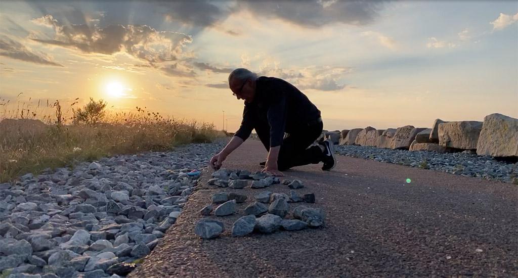 Trevor Davies Walking Copenhagen Metropolis
